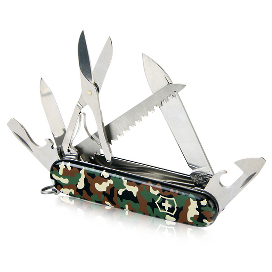Victorinox Huntsman Swiss Army Pocket Knife Camo 1 3713 94