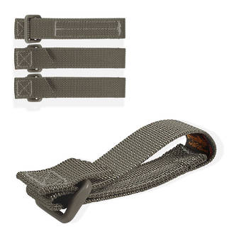 "Maxpedition 3"" Tac Tie Straps (4-Pack), Foliage Green - 9903F"