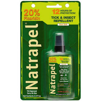 Adventure Medical Kits Natrapel 12 Hour Long-Lasting Insect Repellent, 100 ml Pump - 0002-1350-4