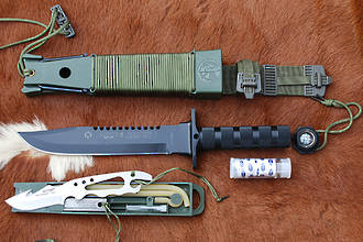 Aitor Jungle King I Survival Knife - 16016