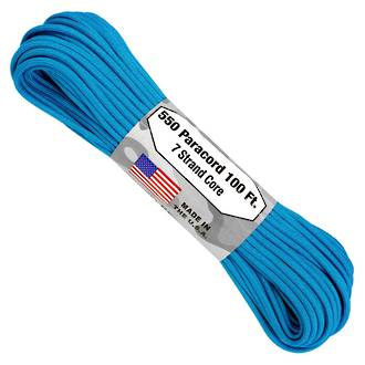 Atwood Rope Manufacturing 550 Paracord Rope, Blue 55001