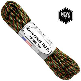 Atwood Rope Manufacturing 550 Paracord Rope, Equinox 75585