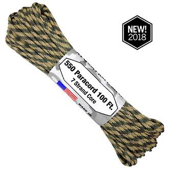 Atwood Rope Manufacturing 550 Paracord Rope, Broken Arrow 75573
