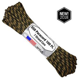 Atwood Rope Manufacturing 550 Paracord Rope, Command Camo 75579
