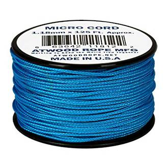 Atwood Rope Manufacturing Micro Cord, 125 ft Roll, Blue - 11887