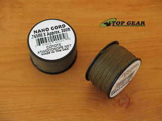 Atwood Rope Manufacturing Nano Cord, Coyote Brown - 40025