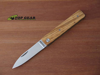 Baladeo Papagayo Pocket Knife - Olive Wood EC0331