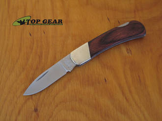 Bear & Son Executive Rosewood Lockback Knife - 224R
