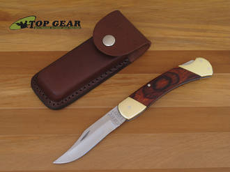 "Bear & Son 5"" Lockback Knife with Rosewood Handle - 297R"