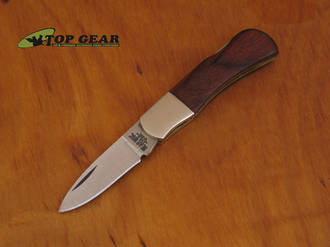 "Bear & Son Cutlery 2.5"" Executive Lockback Knife with Rosewood Handle - 240R"