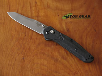 Benchmade Osborne Folding Knife, with Carbon Fiber handle, CPM S90V Stainless Steel 940-1