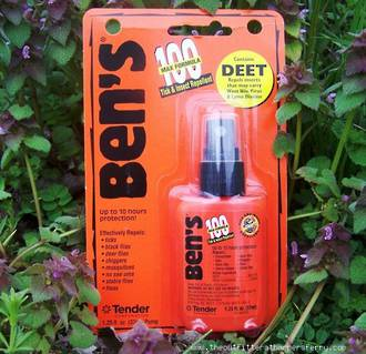 Ben's 100 Max Formula Tick And Insect Repellent, 37 ml Pump - 02-1450R7