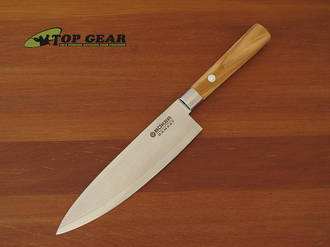 Boker VI Damascus Kitchen Utility Knife - Olive Wood 130439DAM