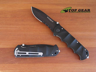 Boker Magnum Black Spear Tactical Linerlock Knife - 01RY247