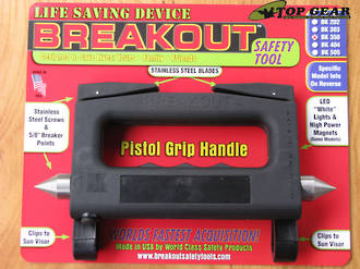 Breakout Car Safety Tool with LED Light - BK350