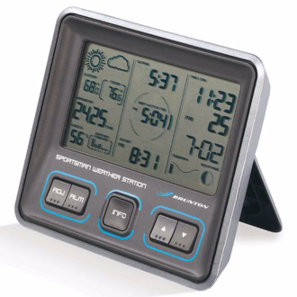 Brunton Sportsman Weather Station - Northern Hemisphere WT-015