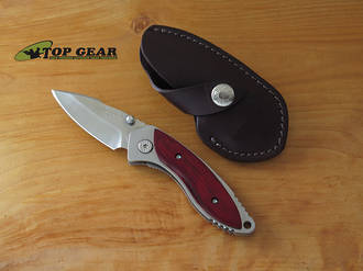 Buck Alpha Dorado Folding Knife with Rosewood Handle - 271RWS-B