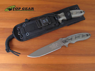 Buck Hood Punk Survival Knife, 5160 Carbon Steel - 65BKSBH-B