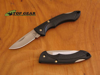 Buck Nano Bantam Lockback Pocket Knife with Black Handle - 283BKS-B