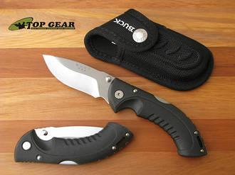 Buck Folding Omni Hunter Knife 10 Pt Black - 395BKS-B