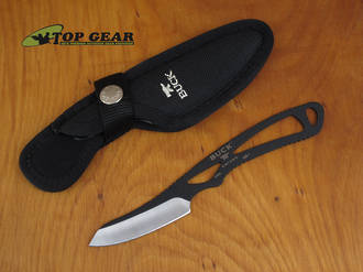 Buck Paklite Caper Knife, Black Powder Coating - 0135BKS-B