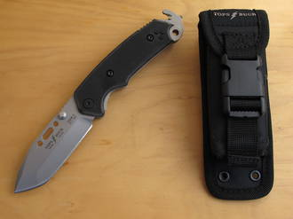Buck/Tops Csar-T Responder Tactical / Rescue Knife - 0091BKSTP-B