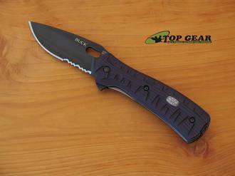 Buck Vantage Force Avid Lockback Knife, Semi-Serrated Blade - 846BKX-B