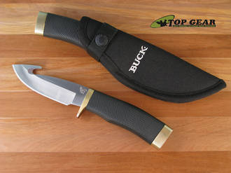 Buck Zipper Guthook Knife, Black Handle - 691BKG