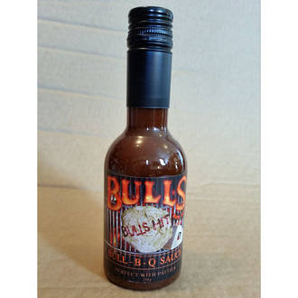 WhataLoadofBull Bulls Hit Bull-BB-Q Sauce - 330 grams