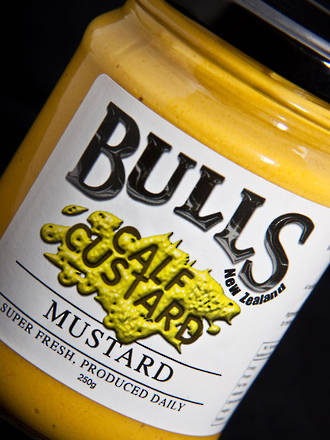 WhataLoadofBull Calf Custard Mustard - 250 grams