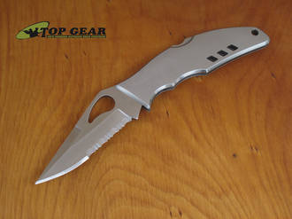 Byrd Flight Knife Stainless with Combo Edge BY05PS