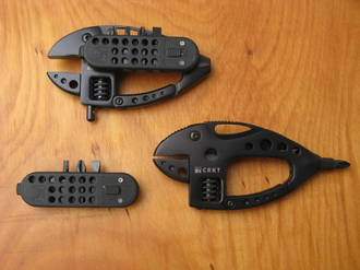 CRKT Guppie Carry Work Tool, Black - 9070K