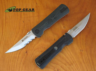 CRKT Heiho Assisted Opening Folder, Fine or Serrated Edge