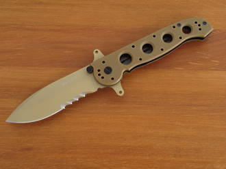 CRKT M21-14DSFG Folding Spear-Point Knife with G10 Handle - M21-12DSFG