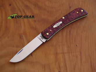 W.R. Case Sod Buster Jr Pocket Knife - Jigged Rosewood Handle 00471