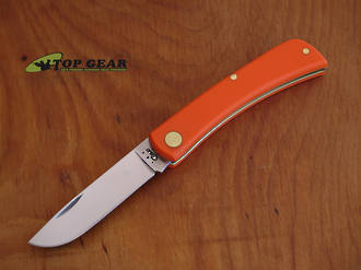 W.R. Case Sod Buster Jr Pocket Knife - Orange 80502