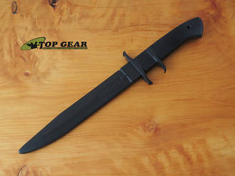 Cold Steel Black Bear Classic Rubber Training Knife - 92R14BBC