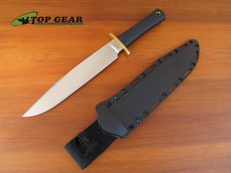 Cold Steel Trail Master Bowie Knife with SK-5 Carbon Steel Blade - 39L16CT