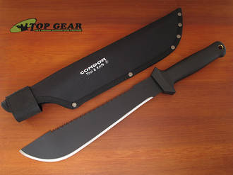 "Condor 12"" Sabretooth Machete - High Carbon Steel CTK420-S12HC"