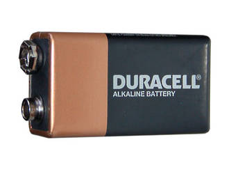 Duracell Copper Top 9V Alkaline Battery, 2 Pack - MNB1500-2