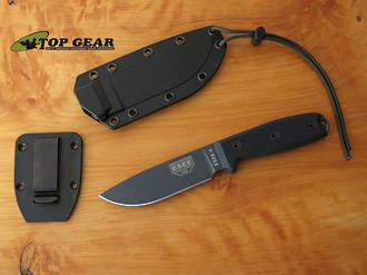 Esee Knives Esee 4 Fixed Blade Knife - Black ESEE-4P-TG-B