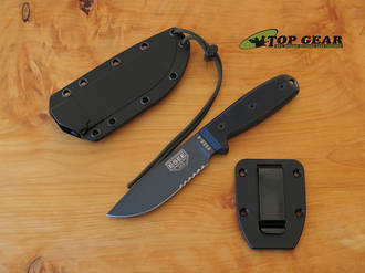 Esee Knives Esee-4S-TG-B Fixed Blade Knife - Black