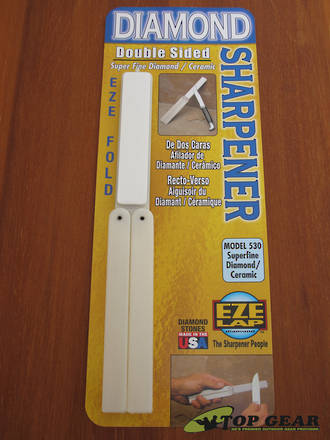 EZE-Lap Eze Fold Double Sided Diamond/Ceramic Sharpener - 530