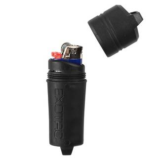 Exotac Firesleeve for Bic Classic Lighter - Black 5005BLK