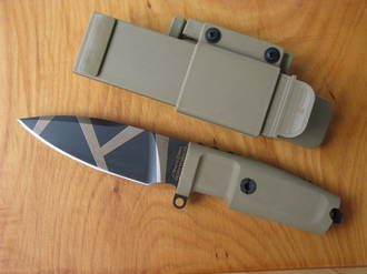 Extrema Ratio Shrapnel OG Tactical Knife, Desert Warfare - MEX160SHRGOG
