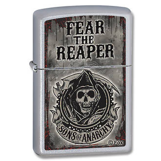Zippo Fear the Reaper Windproof Lighter - 28502