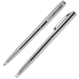 Fisher Space Pen Cap-O-Matic Pen, Polished Chrome - M4C