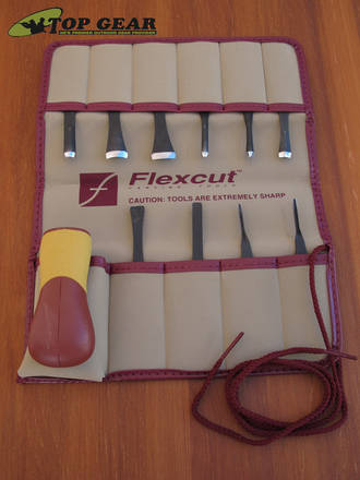 Flexcut 11 Piece Craft Carving Knife Set - SK107