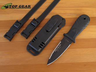 Fox Tecno Military Dive Knife with Pointed Tip - 643/11