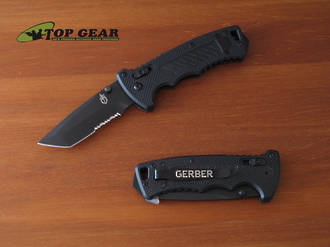 Gerber DMF Folding Tactical Knife with Tanto Blade 31-000583